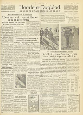 Haarlem's Dagblad 1954-09-07