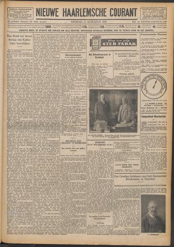 Nieuwe Haarlemsche Courant 1929-08-13