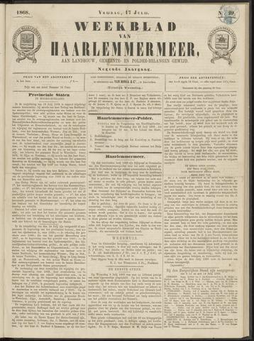 Weekblad van Haarlemmermeer 1868-07-17