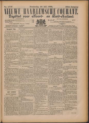Nieuwe Haarlemsche Courant 1904-07-28
