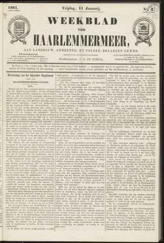 Weekblad van Haarlemmermeer 1861-01-11