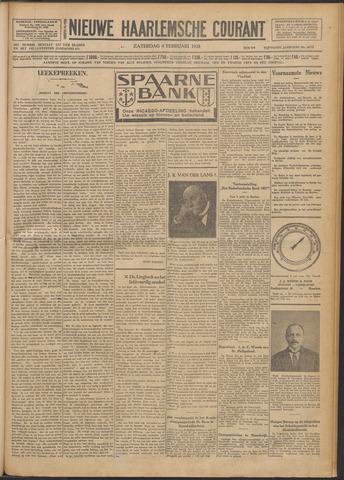Nieuwe Haarlemsche Courant 1928-02-04