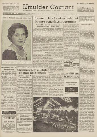 IJmuider Courant 1959-01-16