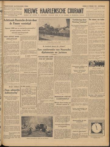 Nieuwe Haarlemsche Courant 1940-02-20