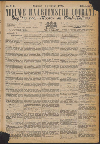 Nieuwe Haarlemsche Courant 1899-02-13