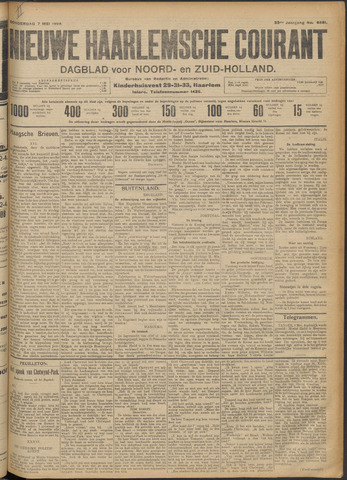 Nieuwe Haarlemsche Courant 1908-05-07