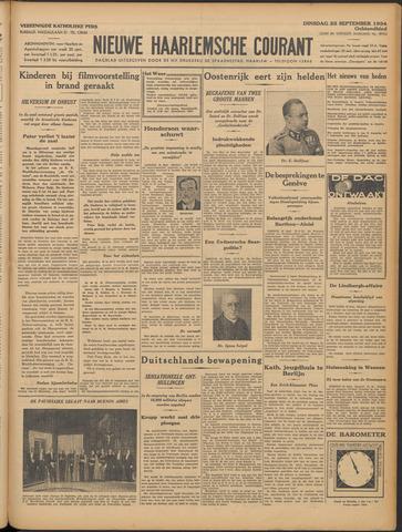 Nieuwe Haarlemsche Courant 1934-09-25