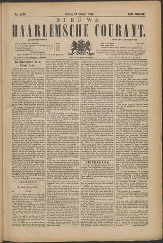 Nieuwe Haarlemsche Courant 1889-10-27