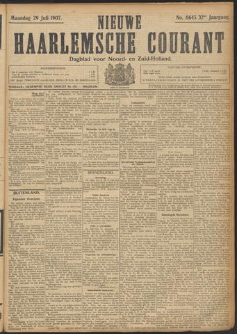 Nieuwe Haarlemsche Courant 1907-07-29