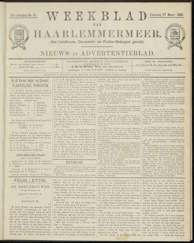 Weekblad van Haarlemmermeer 1886-03-27
