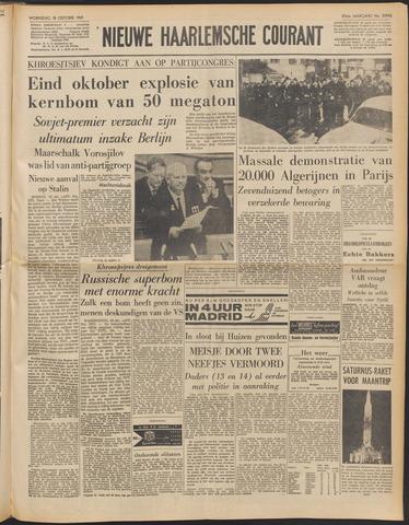 Nieuwe Haarlemsche Courant 1961-10-18
