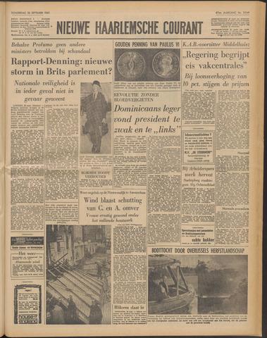 Nieuwe Haarlemsche Courant 1963-09-26