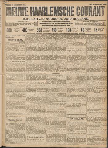 Nieuwe Haarlemsche Courant 1912-11-19
