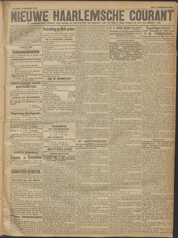 Nieuwe Haarlemsche Courant 1918-02-01