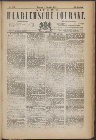 Nieuwe Haarlemsche Courant 1890-11-12