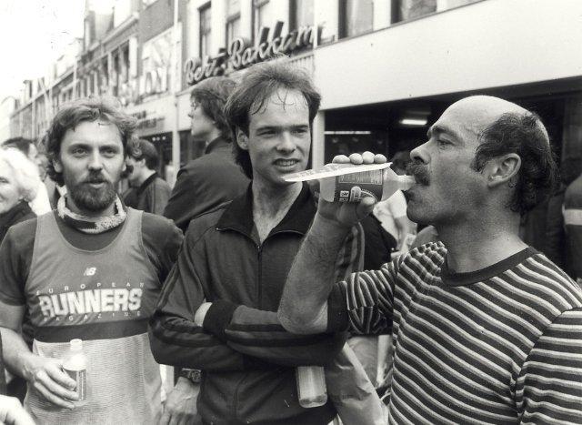 De finish van de Cronjé Paasloop. Geschonken in 1986 door United Photos de Boer bv. Identificatienummer 54-022979