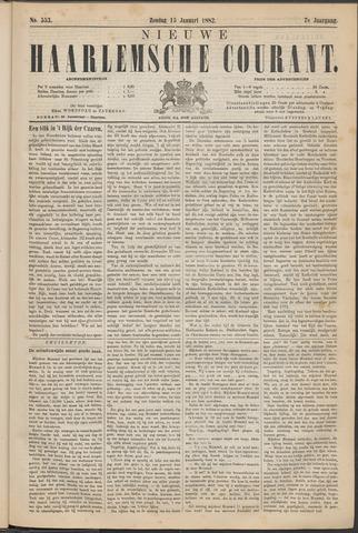 Nieuwe Haarlemsche Courant 1882-01-15