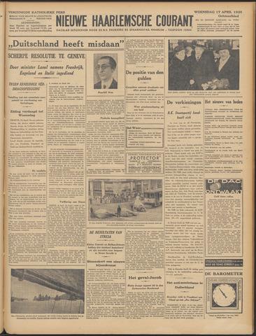 Nieuwe Haarlemsche Courant 1935-04-17