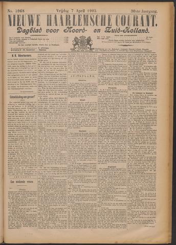 Nieuwe Haarlemsche Courant 1905-04-07