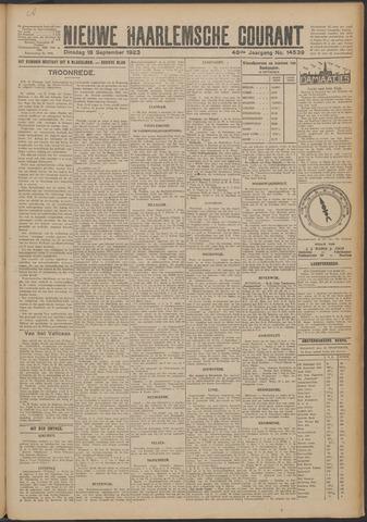 Nieuwe Haarlemsche Courant 1923-09-18