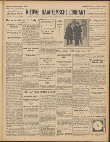 Nieuwe Haarlemsche Courant 1934-01-18