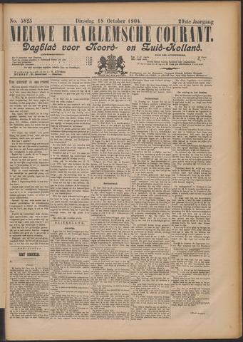 Nieuwe Haarlemsche Courant 1904-10-18