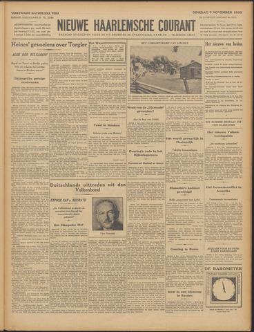 Nieuwe Haarlemsche Courant 1933-11-07