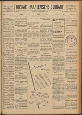Nieuwe Haarlemsche Courant 1930-12-16