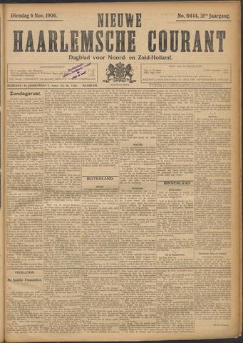 Nieuwe Haarlemsche Courant 1906-11-06