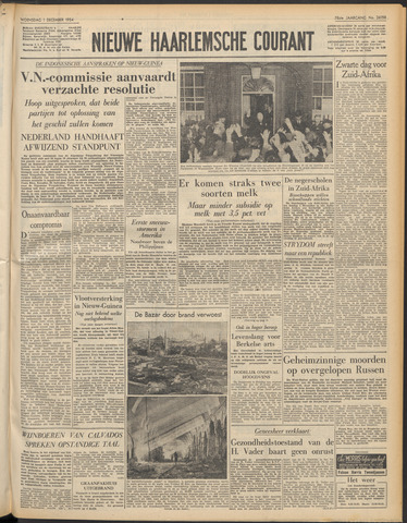 Nieuwe Haarlemsche Courant 1954-12-01
