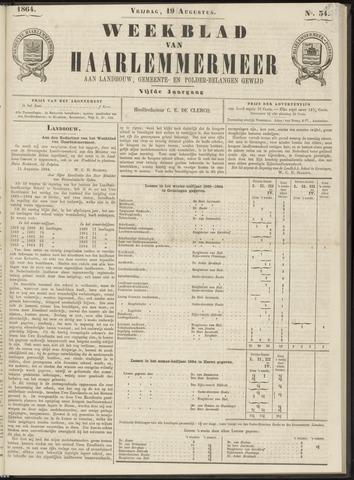 Weekblad van Haarlemmermeer 1864-08-19