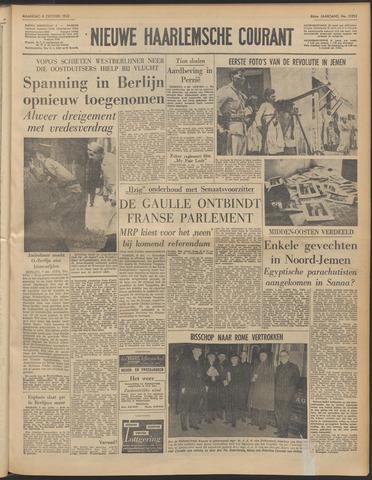 Nieuwe Haarlemsche Courant 1962-10-08