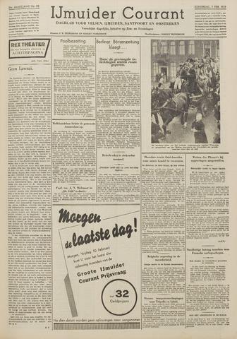 IJmuider Courant 1939-02-09