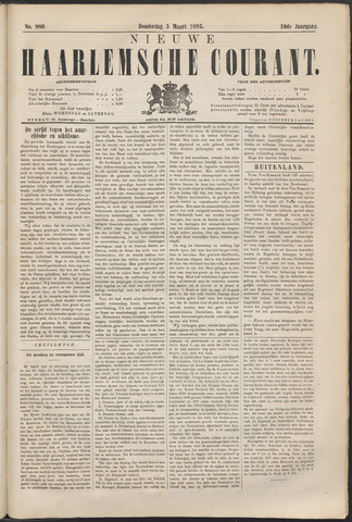 Nieuwe Haarlemsche Courant 1885-03-05