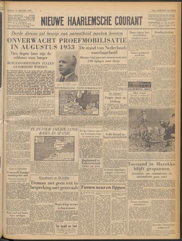 Nieuwe Haarlemsche Courant 1952-12-12