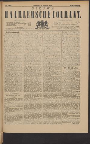 Nieuwe Haarlemsche Courant 1896-02-26