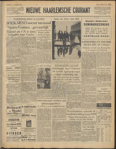 Nieuwe Haarlemsche Courant 1960-10-01