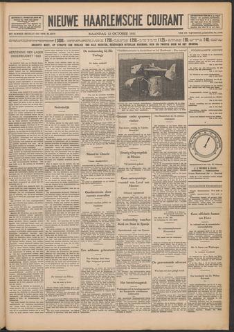 Nieuwe Haarlemsche Courant 1931-10-12