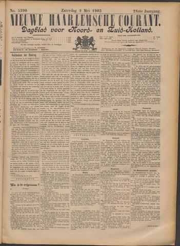 Nieuwe Haarlemsche Courant 1903-05-09
