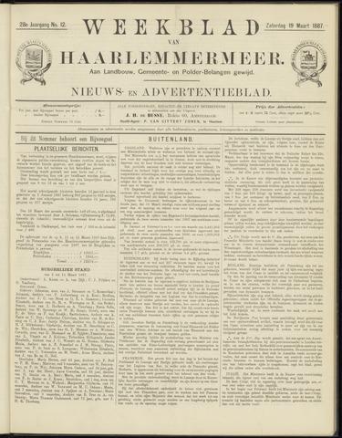 Weekblad van Haarlemmermeer 1887-03-19