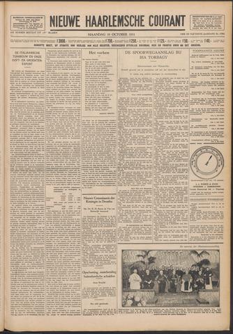 Nieuwe Haarlemsche Courant 1931-10-19