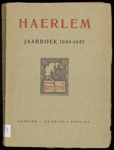 Jaarverslagen en Jaarboeken Vereniging Haerlem 1944