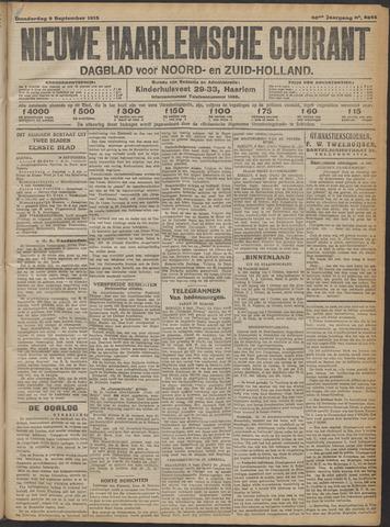 Nieuwe Haarlemsche Courant 1915-09-09