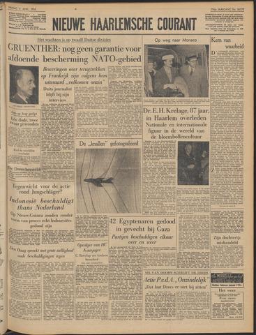 Nieuwe Haarlemsche Courant 1956-04-06