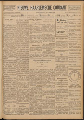 Nieuwe Haarlemsche Courant 1930-11-27
