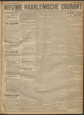Nieuwe Haarlemsche Courant 1918-02-20