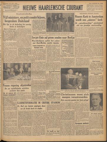 Nieuwe Haarlemsche Courant 1948-07-20