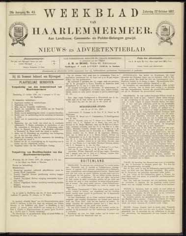 Weekblad van Haarlemmermeer 1887-10-22