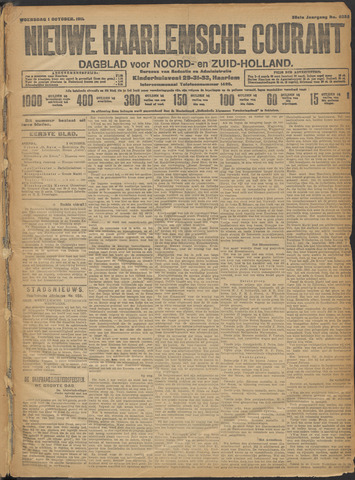 Nieuwe Haarlemsche Courant 1913-10-01