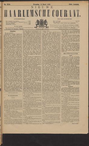 Nieuwe Haarlemsche Courant 1895-03-13